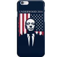 frank underwood for president iPhone Case/Skin