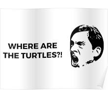 Where Are The Turtles?! - The Office (U.S.) Poster