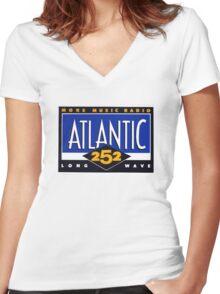 Atlantic 252 Women's Fitted V-Neck T-Shirt