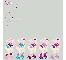 Pink Peng Photographic Print