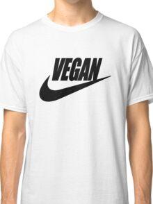 vegan black and white Classic T-Shirt
