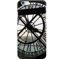 Clock at Musée d'Orsay iPhone Case/Skin
