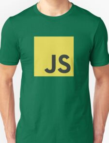Javascript js stickers and shirts Unisex T-Shirt
