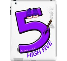 High 5 Purp iPad Case/Skin