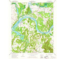 USGS TOPO Map Alabama AL Triana 305236 1964 24000 Photographic Print
