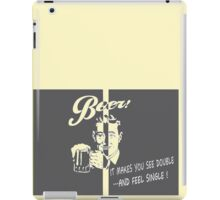 Beer Feeling Funny Quote iPad Case/Skin