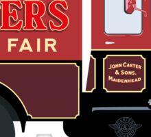Carters Steam Fair Scammell Sticker