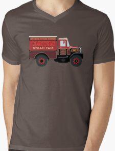 Carters Steam Fair Scammell Mens V-Neck T-Shirt