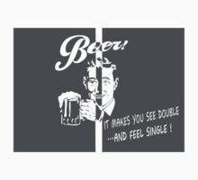 Beer Feeling Funny Quote Kids Tee