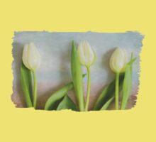 Tulips - JUSTART ©  One Piece - Short Sleeve