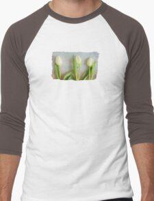 Tulips - JUSTART ©  Men's Baseball ¾ T-Shirt