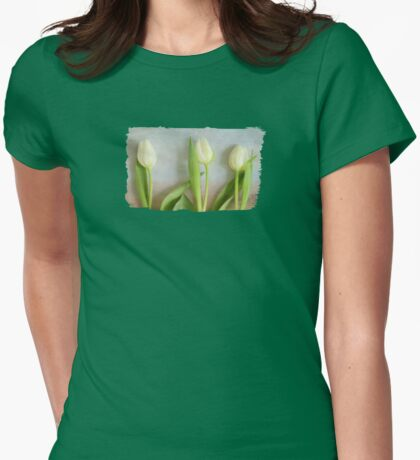 Tulips - JUSTART ©  Womens Fitted T-Shirt