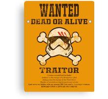 A Traitor's Bounty Canvas Print