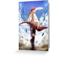 hokage Naruto Greeting Card