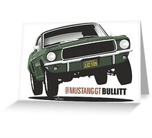 Ford Mustang GT from Bullitt Greeting Card