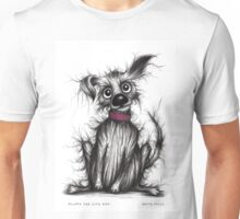 Fluffy the cute dog Unisex T-Shirt