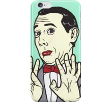 Pee Wee Herman iPhone Case/Skin