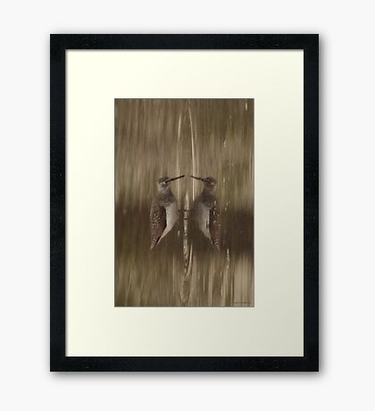 Knocking Yourself? Framed Print