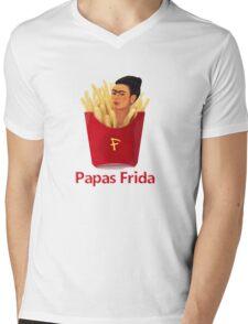 Papas Frida Mens V-Neck T-Shirt