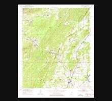 USGS TOPO Map Alabama AL Vincent 305304 1951 24000 Unisex T-Shirt