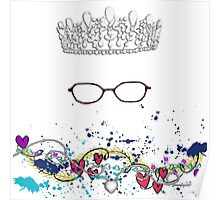The Princess Wears Glasses?! Shut Up! Poster