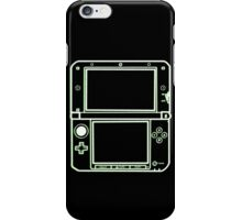"""ALIEN 3DS XL: glowing green sci-fi nintendo outline - """"The Gamer Collection"""" iPhone Case/Skin"""
