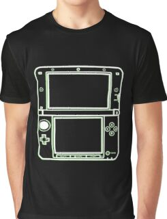 "ALIEN 3DS XL: glowing green sci-fi nintendo outline - ""The Gamer Collection"" Graphic T-Shirt"