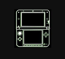 """ALIEN 3DS XL: glowing green sci-fi nintendo outline - """"The Gamer Collection"""" Classic T-Shirt"""
