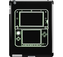 "ALIEN 3DS XL: glowing green sci-fi nintendo outline - ""The Gamer Collection"" iPad Case/Skin"