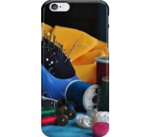 SPOOLS AND BOBBINS iPhone Case/Skin