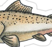 Salmon Friend Sticker