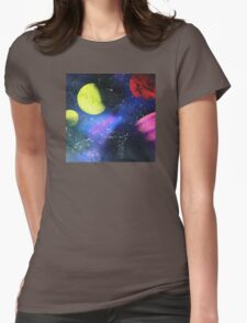 Bold new worlds Womens Fitted T-Shirt