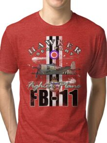 hawker sea fury Tri-blend T-Shirt