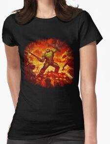 DOOM 2016  Womens Fitted T-Shirt