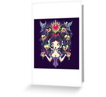 Poisoned Mind Greeting Card