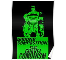 Ground Composition - Green Poster