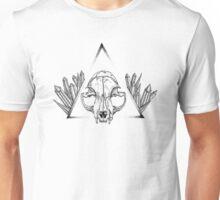 Cat Skull & Gems Unisex T-Shirt