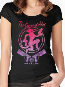 The Gates of Hell Women's Fitted Scoop T-Shirt