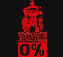 Obstruction Detected - Red Unisex T-Shirt