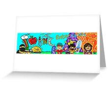 SYNC Good Ol' Days Gaming Greeting Card