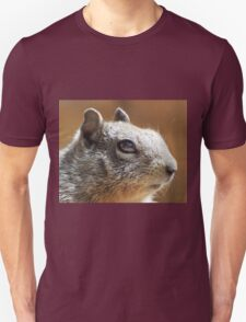 Macro Squirrel Eye Unisex T-Shirt