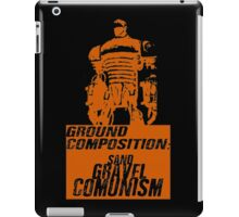 Ground Composition - Orange iPad Case/Skin