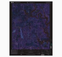USGS TOPO Map Alabama AL Black Pond 303260 2000 24000 Inverted Kids Tee