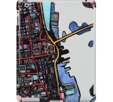Abstract Map of New Bedford iPad Case/Skin