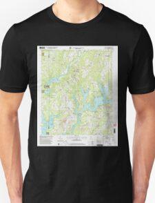 USGS TOPO Map Alabama AL Crane Hill 303601 2000 24000 Unisex T-Shirt