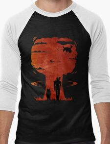 Atomic Warfare - Orange Men's Baseball ¾ T-Shirt
