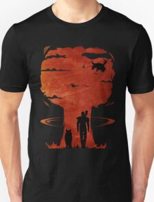 Atomic Warfare - Orange Unisex T-Shirt