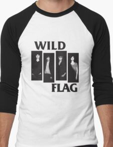 wild flag weiss carrie brownstein Men's Baseball ¾ T-Shirt