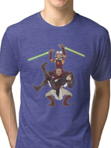 Obi Juan needs some ho Tri-blend T-Shirt