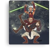 Obi Juan needs some ho Canvas Print